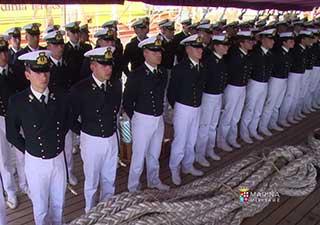 allievi della scuola navale francesco morosini